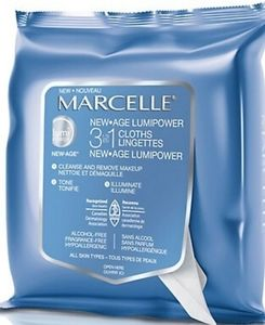 Marcelle New Age Lumipower 3 in 1 Cloths
